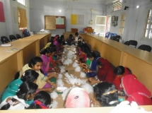 Adolescent Training on Making of Santary Napkin for MHM