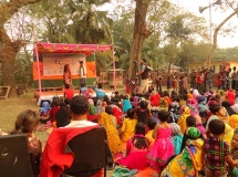 Social cultural program organized by WEA project