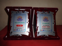 DAM has participated in two days National Workshop and Knowledge Fair'2015 and received 2nd Prize for Poster Competition and a wishes reminder