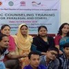 A 4-day training course on Basic Counseling Training for the Paralegals and Others