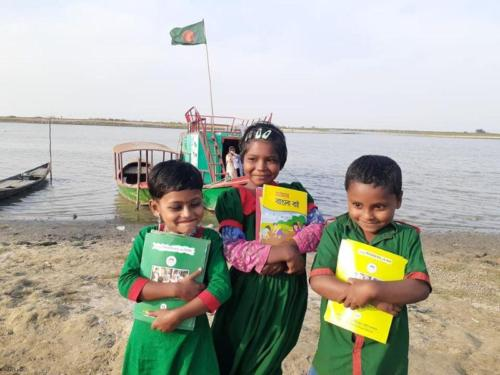 Book Festival of Haor areas children in JOYFUL project