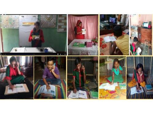 Education Activities of JOYFUL project During COVID-19