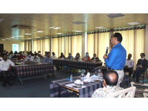 New staffs induction training at Cox's Bazar, October 2020