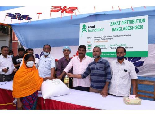 Sept 20 Food  Health materials distributed under Zakat for food affected farmers project,Jamalpur